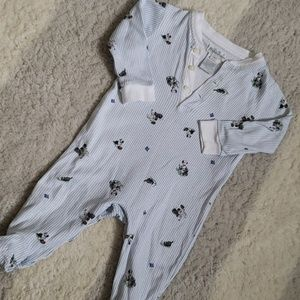 Ralph lauren footed onesie